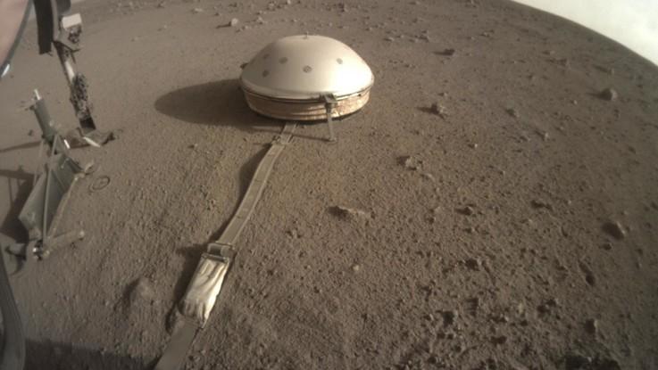 Marte, trovate prove di laghi di acqua salata sotto la calotta polare