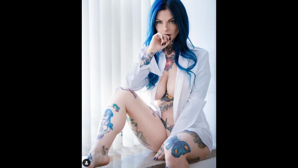 la modella Riae Elisabeth Mac Carthy (fonte Instagram) ©