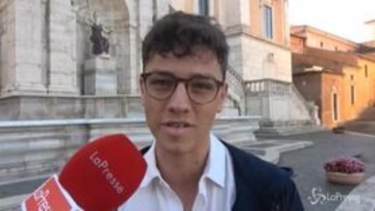 """Elezioni Roma, il 20enne Federico Lobuono sfida Virginia Raggi: """"Sarò il prossimo sindaco della capitale"""""""