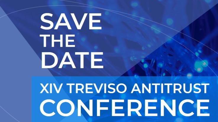 Il 29 ottobre la XIV Treviso Antitrust Conference: sarà virtuale