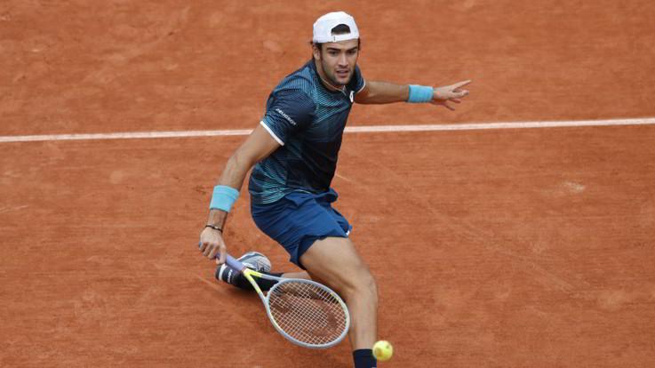 Roland Garros, Berrettini al secondo turno