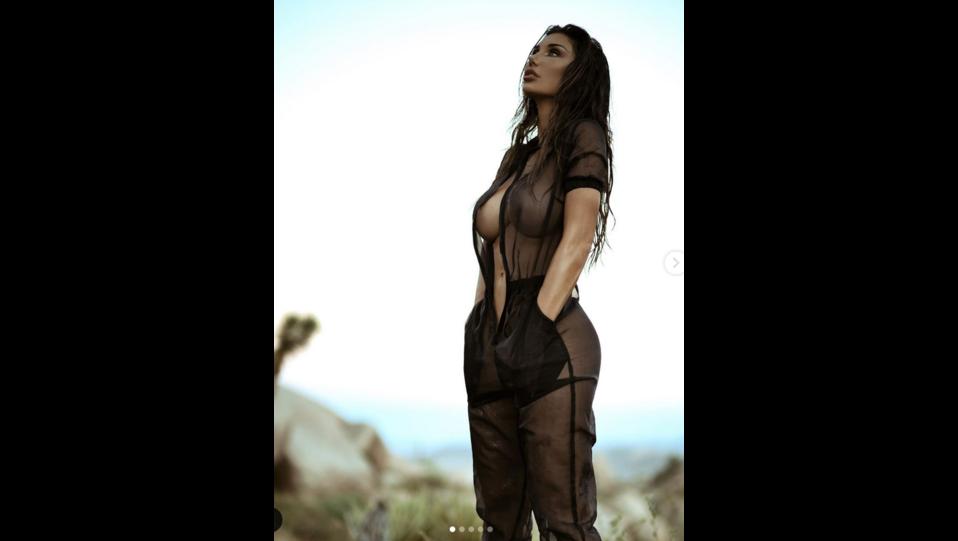la modella Sarai Rollins (fonte Instagram) ©