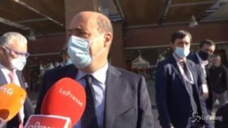 """Assemblea di Confindustria, Zingaretti: """"Credo ci sia una comune voglia di riscatto del Paese"""""""