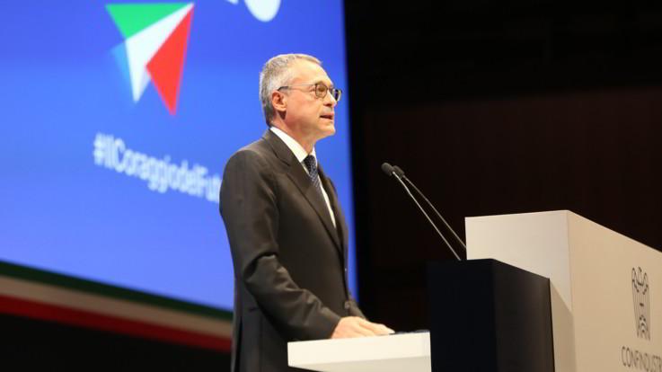 Confindustria, Bonomi lancia il 'Patto per Italia' ma indica il modello Francia