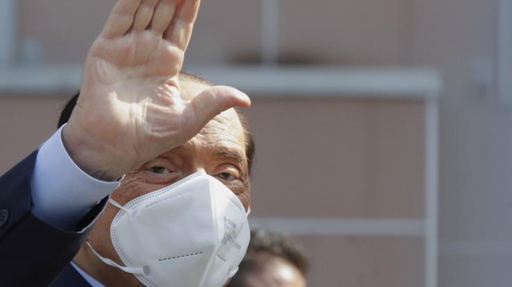Coronavirus, primo tampone negativo per Berlusconi