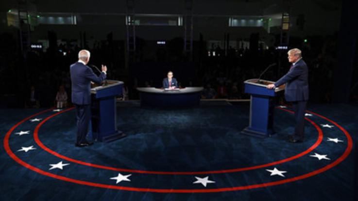 Trump-Biden, primo dibattito infuocato tra accuse e insulti