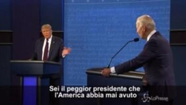 """Usa 2020, Biden attacca Trump: """"Sei il peggior presidente che l'America abbia mai avuto"""""""