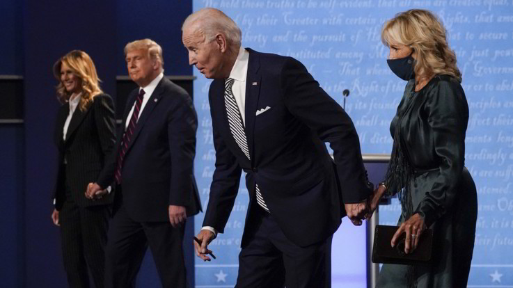 Elezioni americane, dibattito Trump-Biden: gli indecisi sono rimasti tali