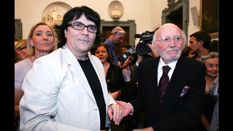 Renato Zero incontra il maestro Armando Trovaioli ©
