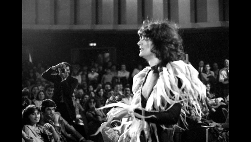 Renato Zero in concerto nel 1981 ©