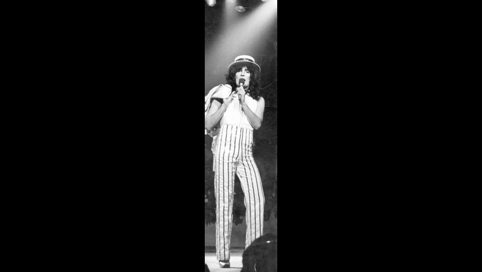 1979 - Renato Zero al teatro tenda di Roma ©