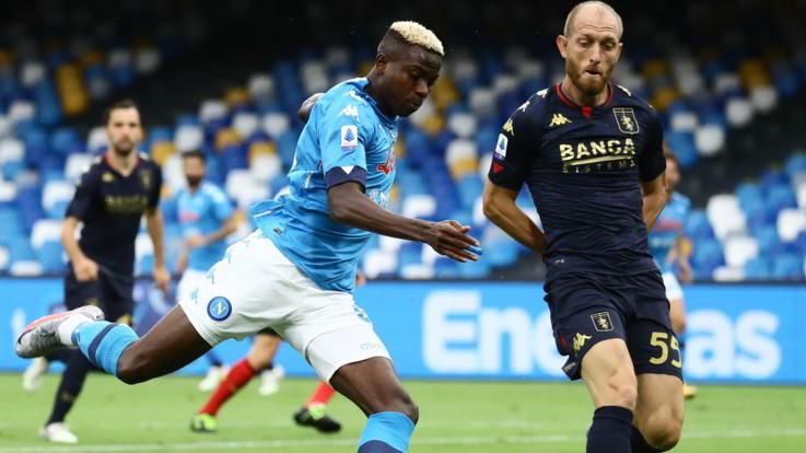 Focolaio Genoa: tutti negativi i tamponi dei giocatori del Napoli