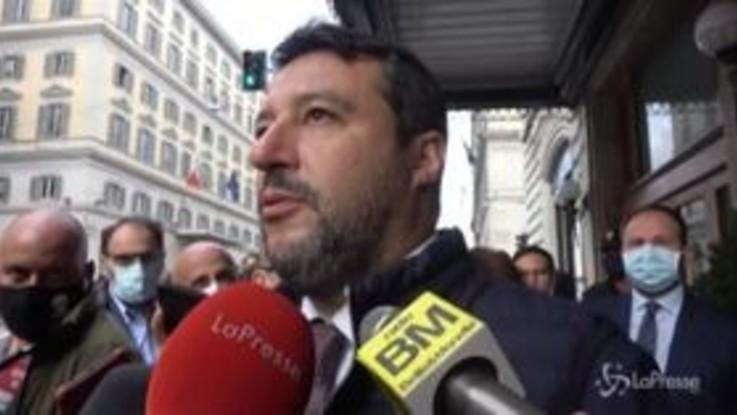 """Senatori M5S contagiati, Salvini: """"Non so chi siano ma non sono preoccupato"""""""