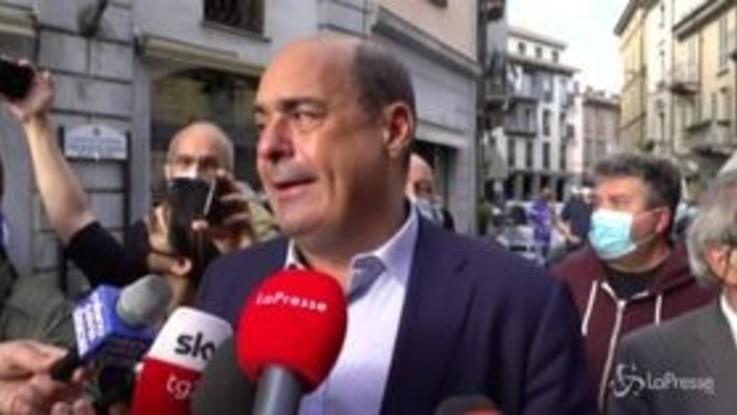 """Zingaretti: """"C'è un'evoluzione positiva nelle forze che sostengono il Governo"""""""