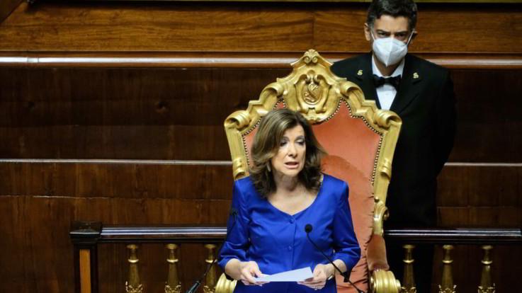 Coronavirus, Casellati: Non ho nessuna intenzione di chiudere Senato