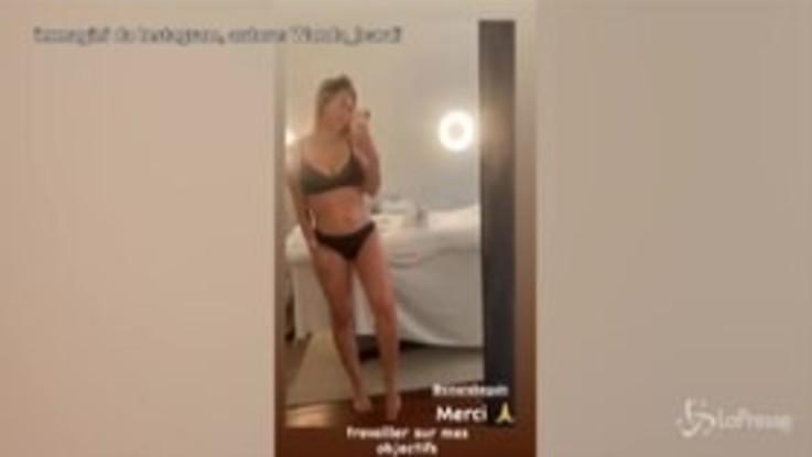 Wanda Nara in intimo è super sexy, impazziscono i suoi follower