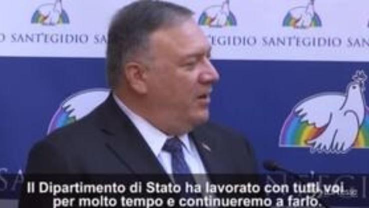 Mike Pompeo in Vaticano per udienza con il cardinale Parolin