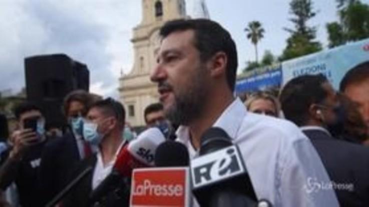 """Caso Gregoretti, Salvini: """"M5S assente? Non commento vigliaccheria altrui"""""""