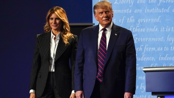 "Usa, tweet di Donald Trump: ""Io e Melania in quarantena"""