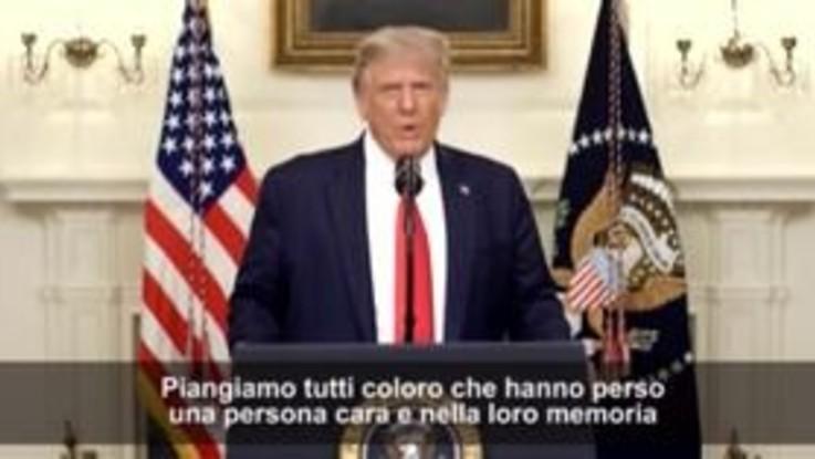 """Solo ieri Trump diceva: """"La fine della pandemia è vicina"""""""