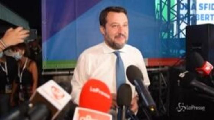 """Caso Gregoretti, Salvini: """"Non ho torto un capello a nessuno, sono tranquillo"""""""