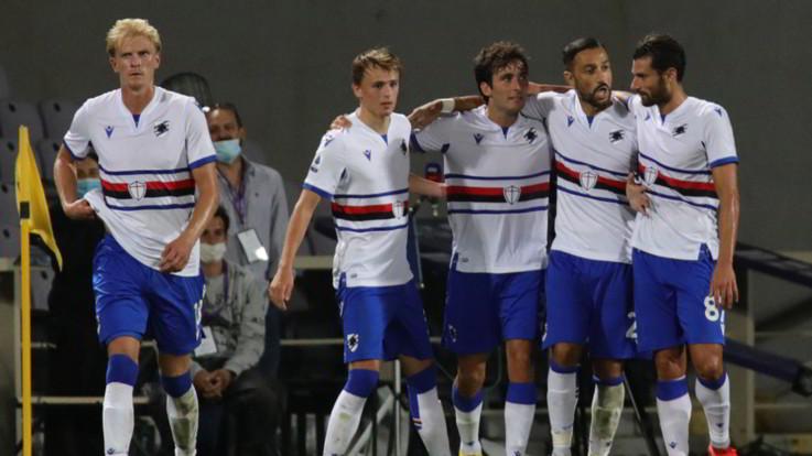 Calcio, la Sampdoria rinasce: Quagliarella e Verre piegano la Fiorentina