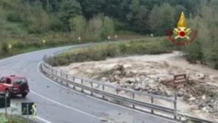 Alluvione a Limone Piemonte: paese invaso da fango e acqua