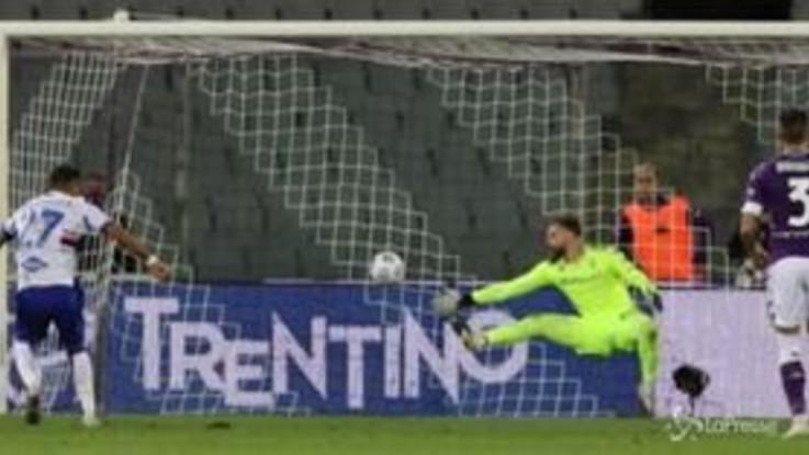 Serie A, la Sampdoria batte la Fiorentina 2-1