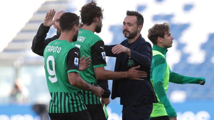 Serie A, il Sassuolo travolge 4-1 il Crotone