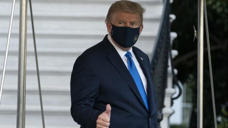 """Usa, Trump rassicura dall'ospedale: """"Sto meglio"""""""