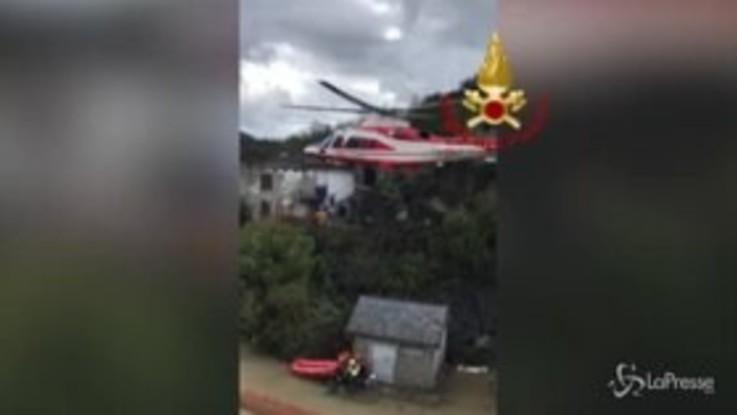 Maltempo, Piemonte: soccorse due persone nell'Ossola