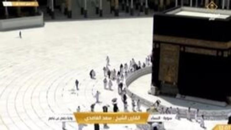 Covid-19, La Mecca: i fedeli alla Sacra Moschea dopo revoca restrizioni