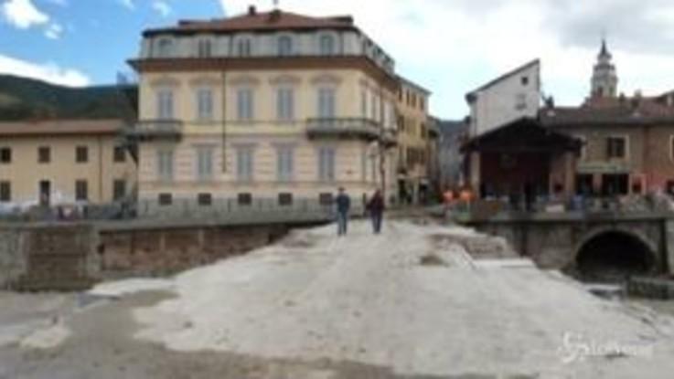"""Maltempo, sopralluogo di Cirio nelle zone colpite del Piemonte: """"Siamo in necessità impellente"""""""