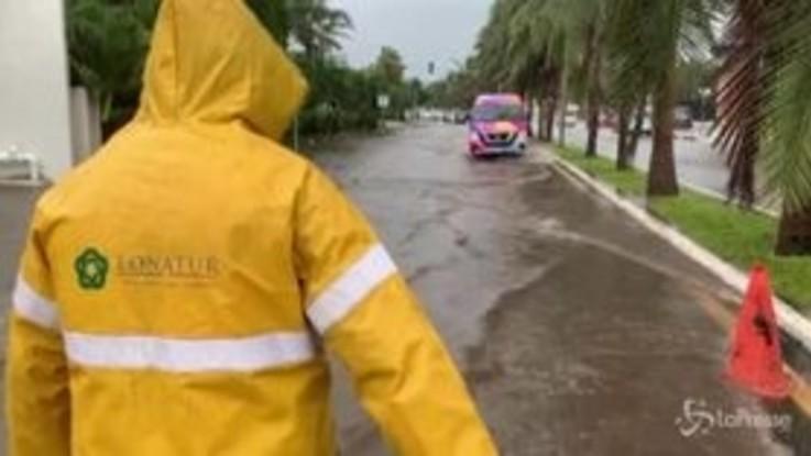 Messico, la tempesta Gamma raggiunge le coste dello Yucatan