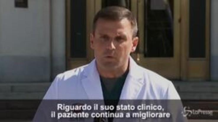 """Covid, i medici: """"Trump continua a migliorare"""""""