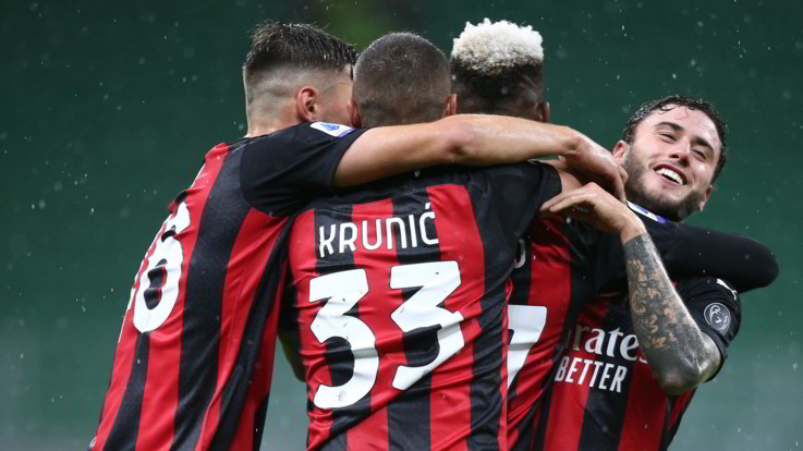 Serie A, il Milan batte lo Spezia 3-0