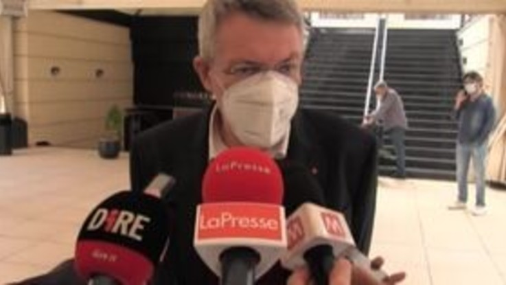 """Dl Sicurezza, Landini: """"Decreto va nella direzione giusta, ora chi è nato in Italia abbia stessi diritti"""""""