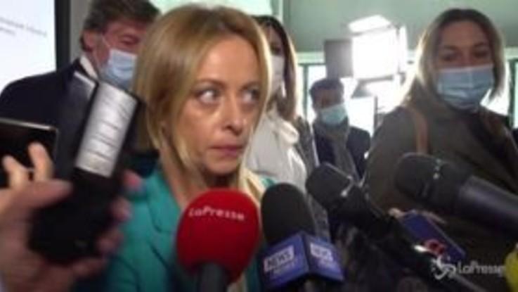 """Comunali Milano, Meloni: """"Al lavoro per proposta vincente"""""""