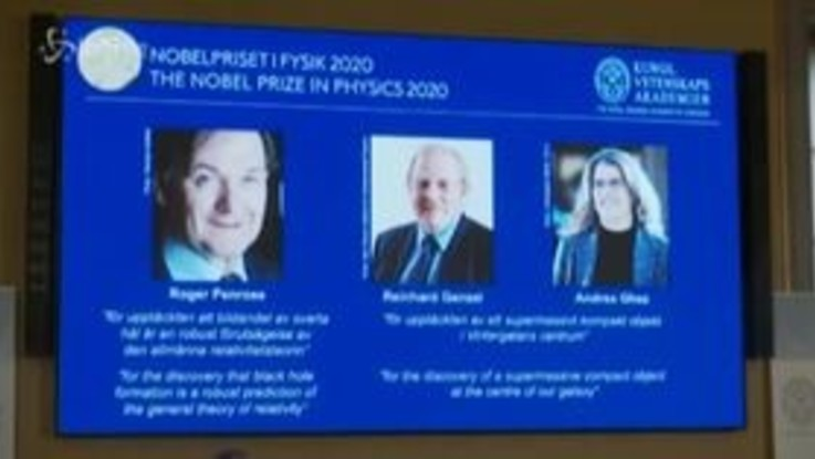 Nobel per la Fisica 2020 a Penrose, Ghez e Genzel
