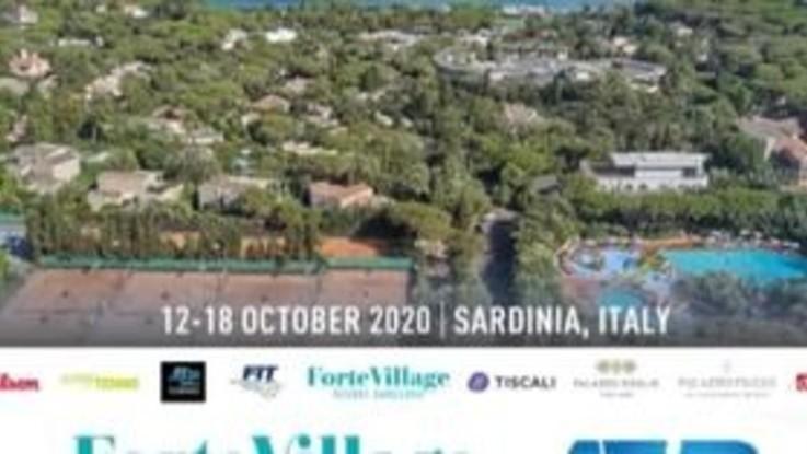 Tennis, Forte Village Sardegna Open: dal 12 al 18 ottobre l'Atp 250