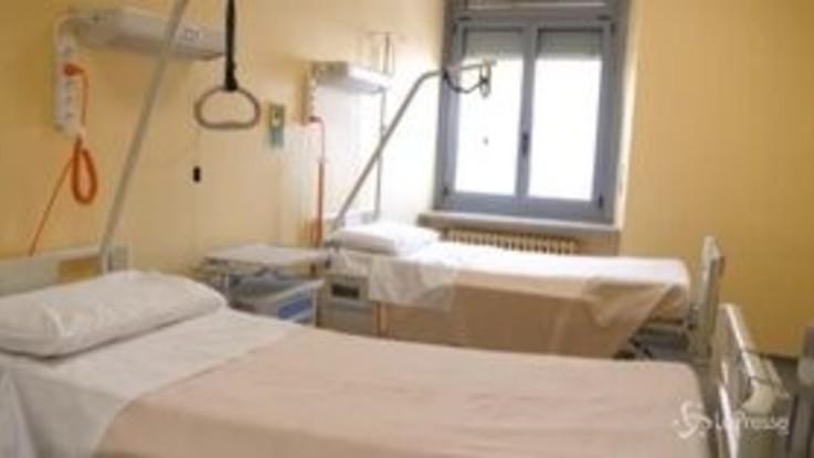 Coronavirus, inaugurata con Cirio nuova area degenza Covid a Oftalmico di Torino