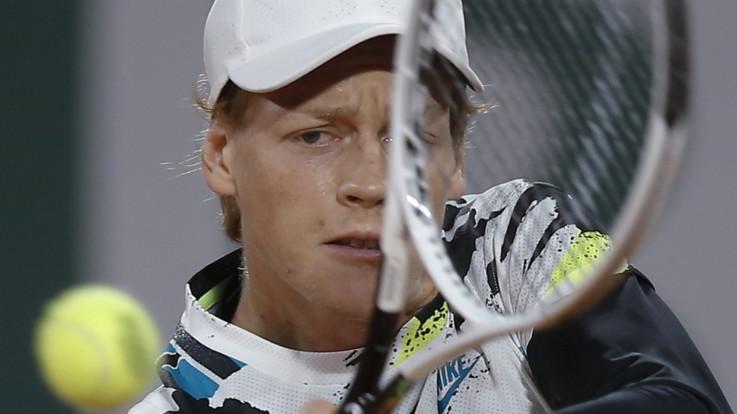 Roland Garros: Sinner eliminato da Nadal, ma esce a testa alta
