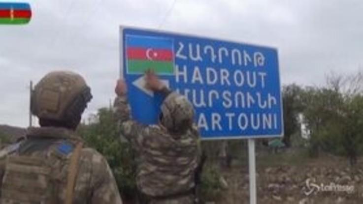 Nagorno-Karabakh, gli azeri annunciano la conquista di Shukurbayli