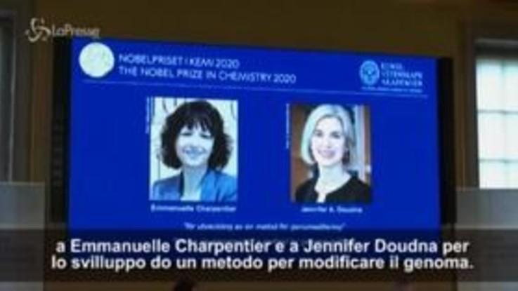 Due donne vincono il Nobel per la chimica
