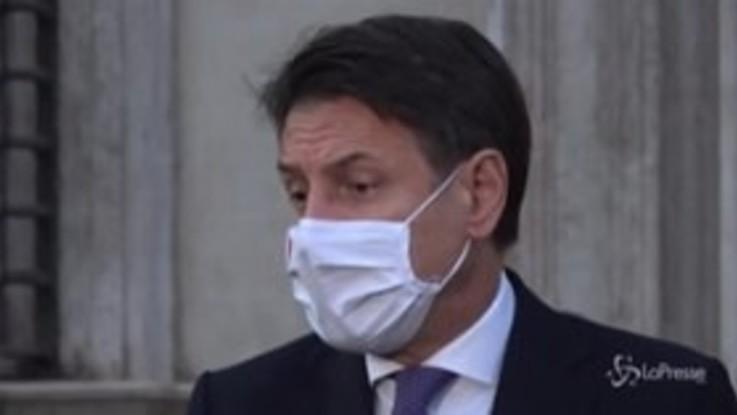 """Conte: """"Se contagi peggiorano avremo problema per approvazione documenti in Parlamento"""""""