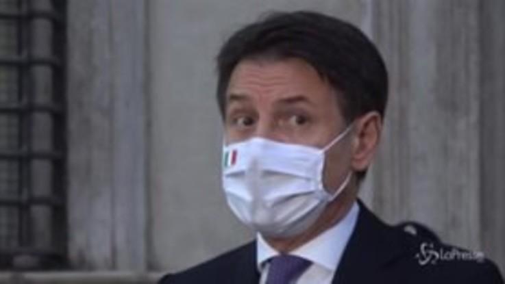 """Conte: """"Io sempre in Parlamento, più di altri in passato"""""""