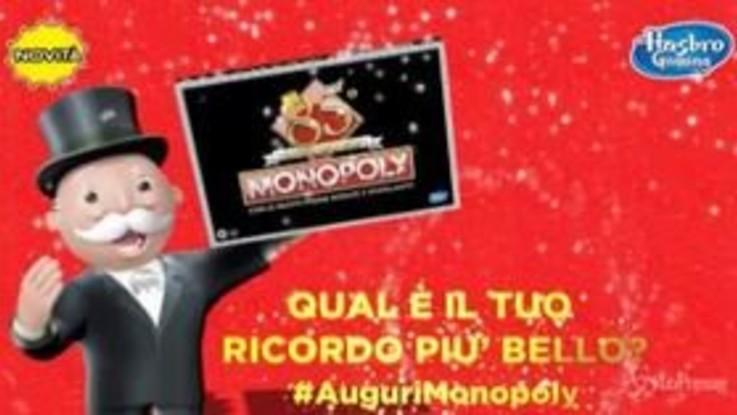 Monopoly compie 85 anni: lo spot è un'inno ai ricordi di generazioni di giocatori