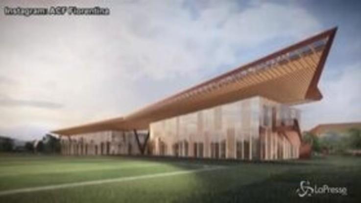 Fiorentina, presentato il nuovo centro sportivo 'Viola Park'