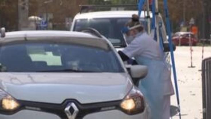 """Austria: 1500 tamponi al giorno in modalità """"drive-in"""""""