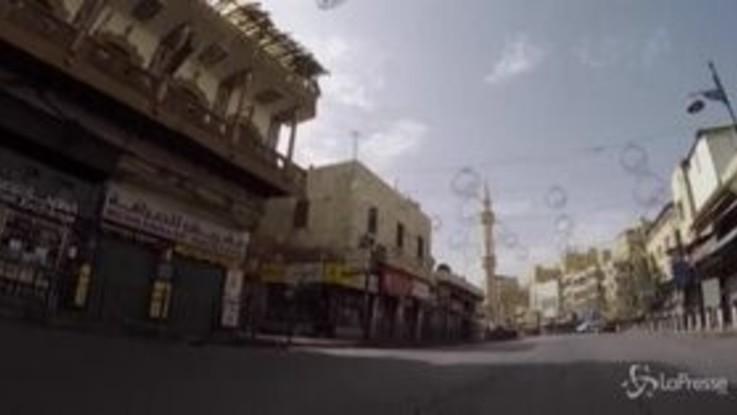 Giordania, lockdown totale per il weekend: Amman deserta